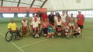 Foto fi gruppo torneo misto normodotati.atleti disabili