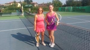 Elena Pirocca e Diane Georges