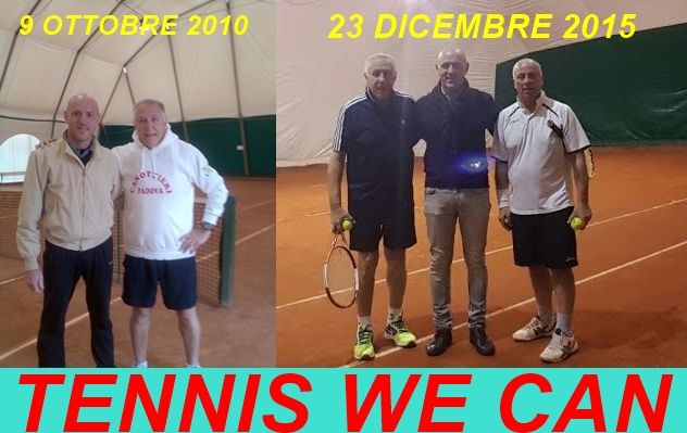 5 ANNI DI TENNIS WE CAN